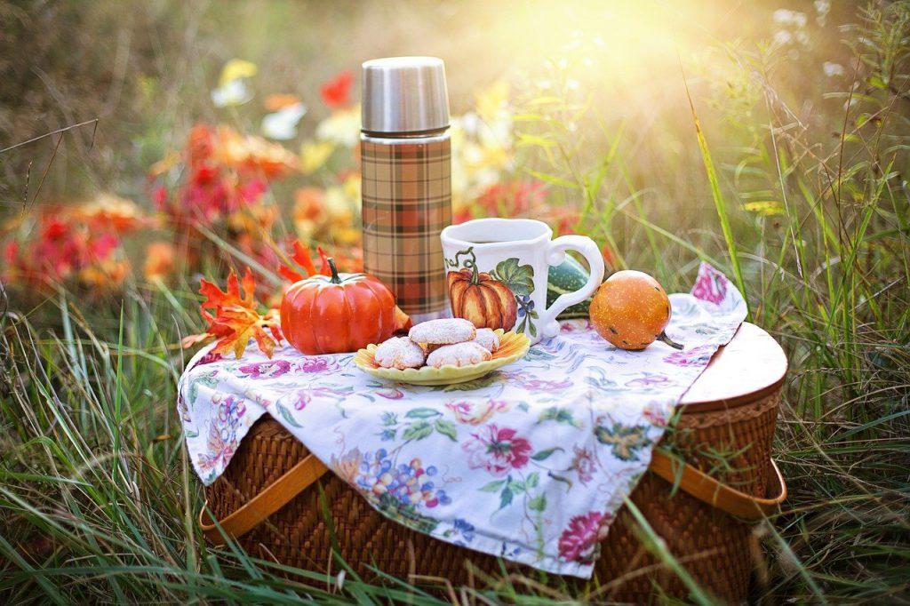 autumn, tea, fall