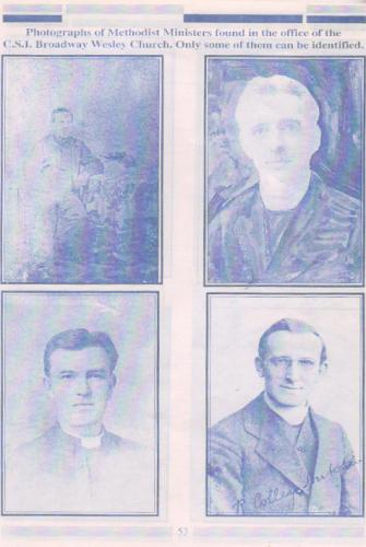 Pastors who served WEC (Could not be identified)
